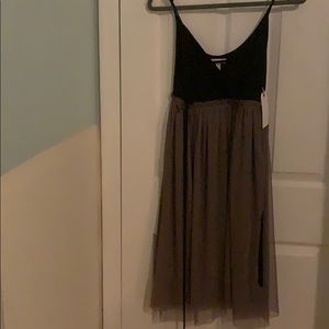 New with tag Nordstrom Tan dusk dress